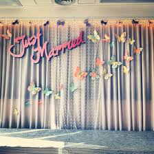 wedding backdrop design template lace butterflies wedding backdrop low tech indoor wedding