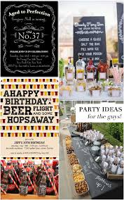 50th Birthday Centerpieces For Men by Birthday Party Ideas For The Guys Pizzazzerie