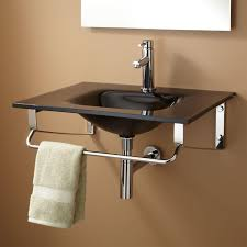 yesler wall mount glass sink wall mount sinks bathroom sinks