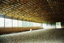 the perfect indoor riding arena