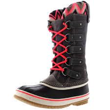 sorel womens boots canada womens sorel joan of arctic knit ii waterproof winter warm