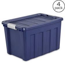 hdx storage bins u0026 totes storage u0026 organization the home depot