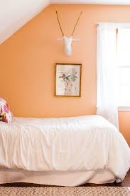 orange wall style at home meredith miller s bright abode bright bedrooms and
