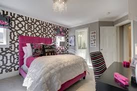 Pink Black U0026 White Teen by Black And White Teen Bedroom Ideas Teenage Girls For
