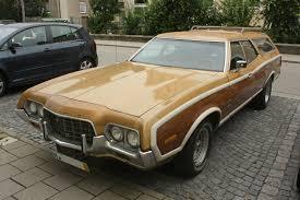 Starsky And Hutch Gran Torino For Sale 1972 Ford Gran Torino Squire Station Wagon With Non Stock Wheels