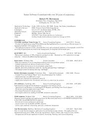 Resume Samples Java by Fantastic Application Developer Resume Examples In 4 Clive