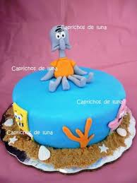 squidward tentacles cake cakecentral com