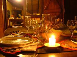 Romantic Dinner At Home by Romantic Elegant Honeymoon Dinner Table Meigenn