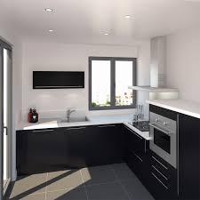 cuisine laqué noir meuble cuisine noir laqué luxury cuisine noir bois inox chaios