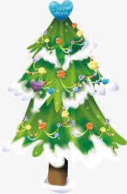 winter snow tree hanging creative hanging snow vector