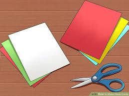 How To Make A Card Envelope - 5 ways to make flash cards wikihow