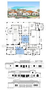 spanish hacienda floor plans 356 best haciendas u0026 spanish style homes images on pinterest
