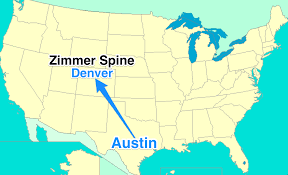 Spine Map Zimmer U0027s History Says That Ldr Spine Will Move To Denver