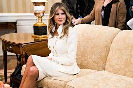 why melania trump u0027s white house portrait veers off message