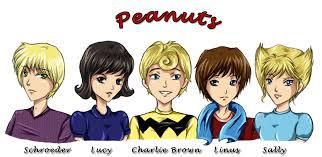 peanuts charlie brown gang astudyinscarlet deviantart