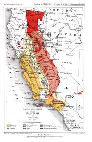 California Maps History Of Geologic Maps Of California