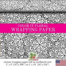 floral wrapping paper rolls vintage floral kraft gift wrapping paper custom 1850 s floral