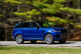 blue range rover interior 2015 land rover range rover sport svr first drive review motor