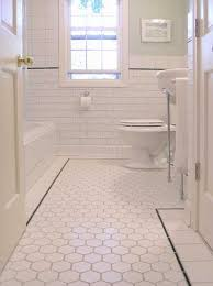 Bathroom Ideas Traditional Floor Tiles Design For Hall Bathroom Traditional With White Tile