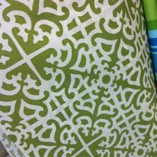 Green Trellis Fabric Choosing Fabric For A Playground Makeover