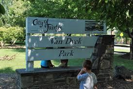 dyck park in fairfax va outdoors