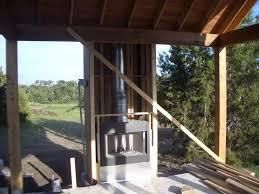 prefabricated outdoor fireplace