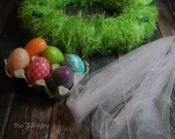 upcycle christmas lights for an easter wreath tutorial the