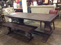 Distressed Dining Room Tables by Dining Tables Farmhouse Dining Room Table Round Farmhouse Table