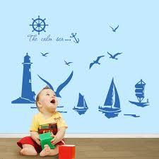 28 lighthouse wall stickers wall decal lighthouse and flock online get cheap lighthouse wall decals aliexpress com