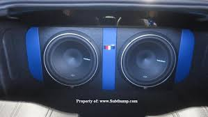 camaro speaker box 2016 2017 camaro lt ls ss dual 10 12 rear subwoofer box by