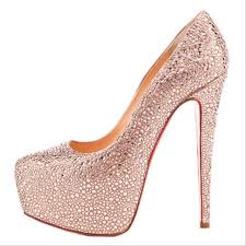 Light Pink Wedding Shoes Peach Shoes Wedding