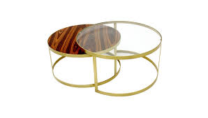 glass coffee table with gold legs instacoffeetable us