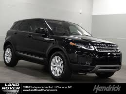 land rover evoque black and white new 2018 land rover range rover evoque for sale charlotte nc 18131