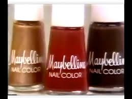 maybelline nail color commercial 1978 youtube