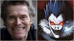 Death Note Halloween Costume Willem Dafoe Cast Netflix U0027s Death Note Adaptation