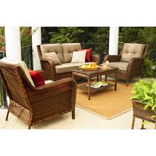 Patio Chairs With Cushions Replacement Cushions For Patio Sets Sold At Sears Garden Winds