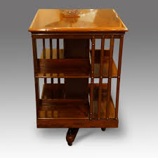 Revolving Bookcase Table Edwardian Mahogany Revolving Bookcase Hingstons Antiques Dealers