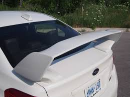 subaru wrx spoiler review 2015 subaru wrx sti canadian auto review