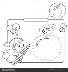 educational games for kids numbers game apple coloring page