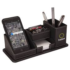 Electronic Desk Organizer Oxford Desk Organizer W Phone Holder Logo Branded Items