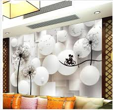 Wall Murals 3d Online Get Cheap Dandelion Wall Mural Aliexpress Com Alibaba Group