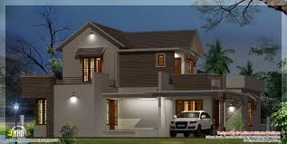 contemporary style kerala home design house plan beautiful modern kerala home design house design
