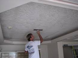 How To Texture A Ceiling With Paint - how to create a skip trowel texture photos video how to guides