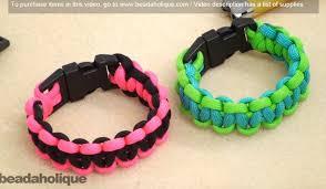 make bracelet with paracord images How to make a basic cobra paracord bracelet knittting crochet jpg