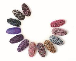 flocking flurries 3 d textured nail art products style nails