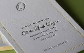 printing wedding invitations letterpress announcement wedding doctor