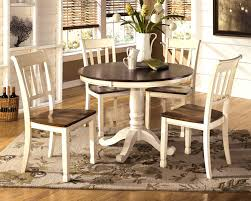 furniture knockout casual two tone antique white warm cherry