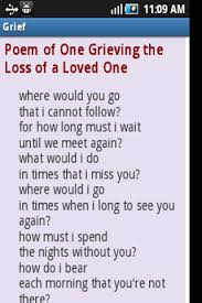 Comforting Love Poems Help For The Grieving Android Apps On Google Play
