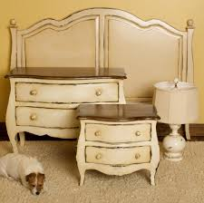 distressed white bedroom furniture beautiful rustic white bedroom furniture pics home