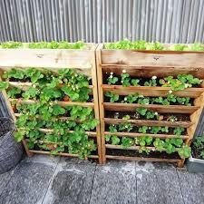 94 best pallet planters images on pinterest gardening pallet